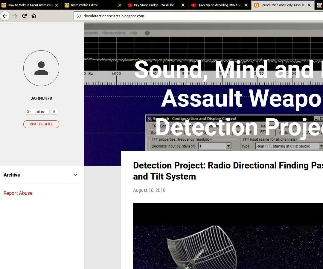 How to Make a Directed Energy Weapon Detection System for
