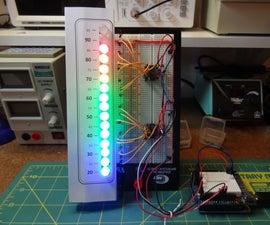 Arduino - Analog LED Thermometer