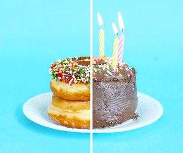 Emergency Birthday Cake
