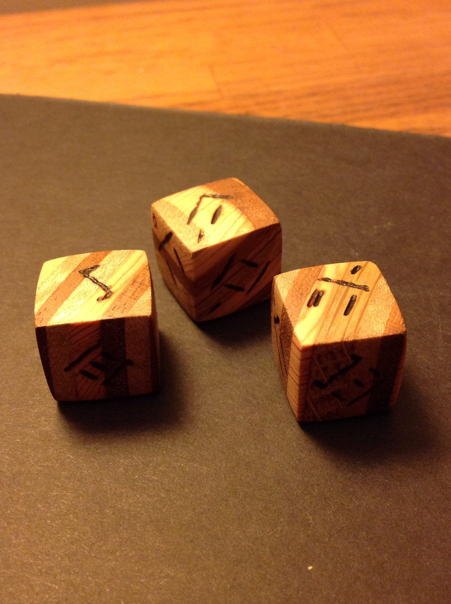 Picture of Oman Numeral D6 Dice
