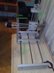 Mini CNC Specifications