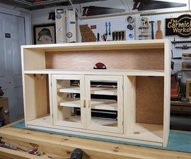 Space Saving TV Console
