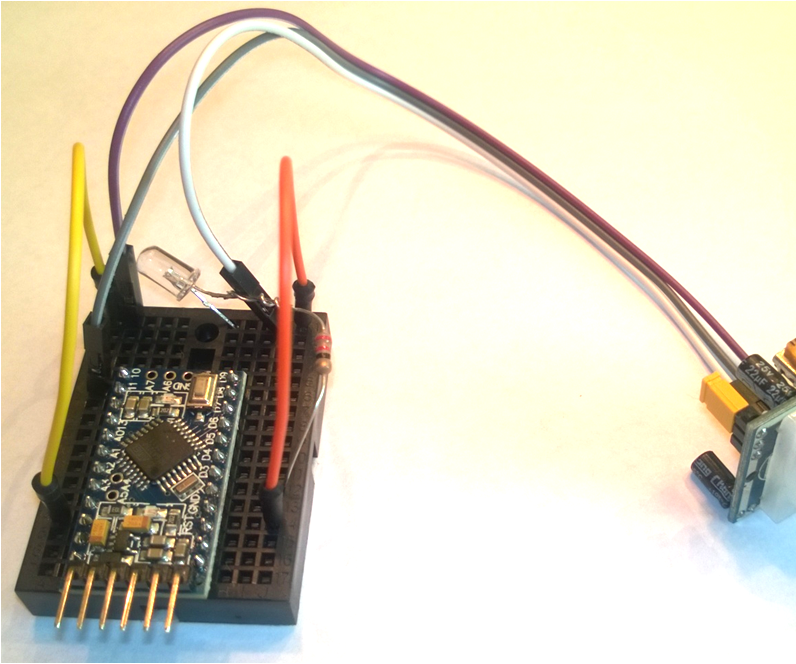 Motion Detector With Led For Beginners   5 Steps  With