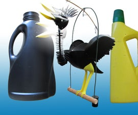 Balancing Bottle Bird