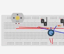 control a DC motor