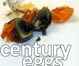 century eggs