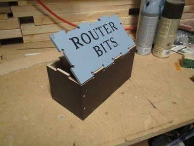 Router Bit Storage Box