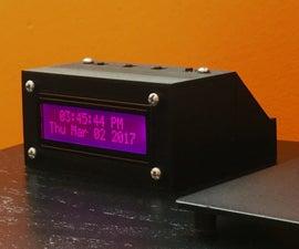 Jclock V1 (An Arduino-based Clock)