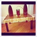 Wine-Inspired Speaker Table