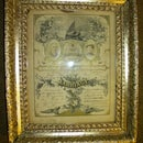 Vintage Plaster and Gold Frame Restored