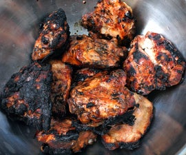 BBQ Chicken Thighes- A step up from caveman method