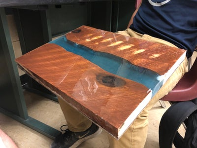 Resin River Table-Top
