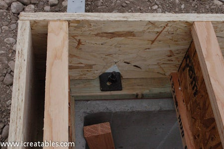 Cut and Install the Floor Joists Between the Rim Joists