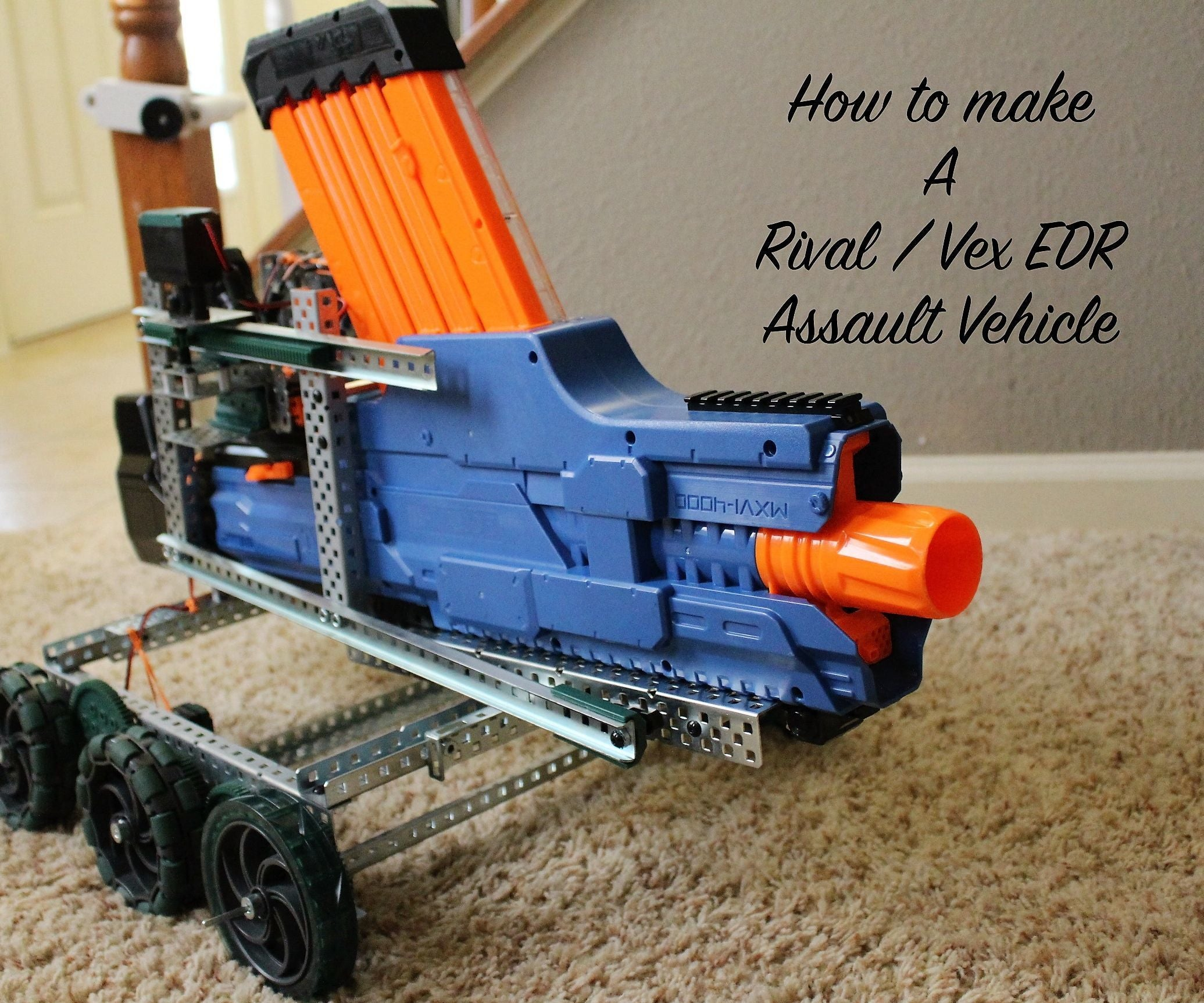 The Vex Assault Vehicle 20 Steps With Pictures