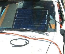 Solar Car Battery Charger DIY
