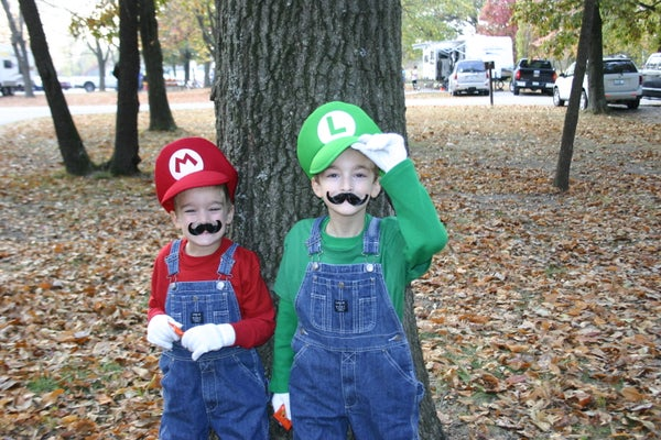 Mario Bros. Costumes With Sound Effects
