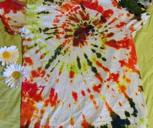 Totally Groovy Tie Dyed T-Shirts