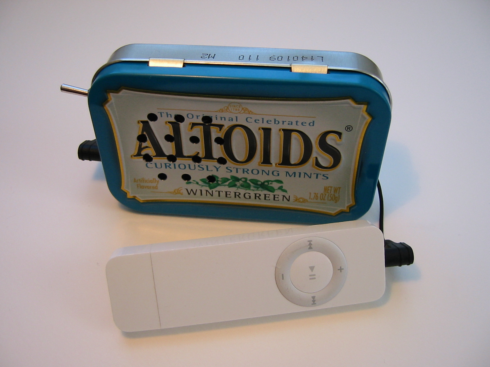 Picture of Altoids Tin Speaker