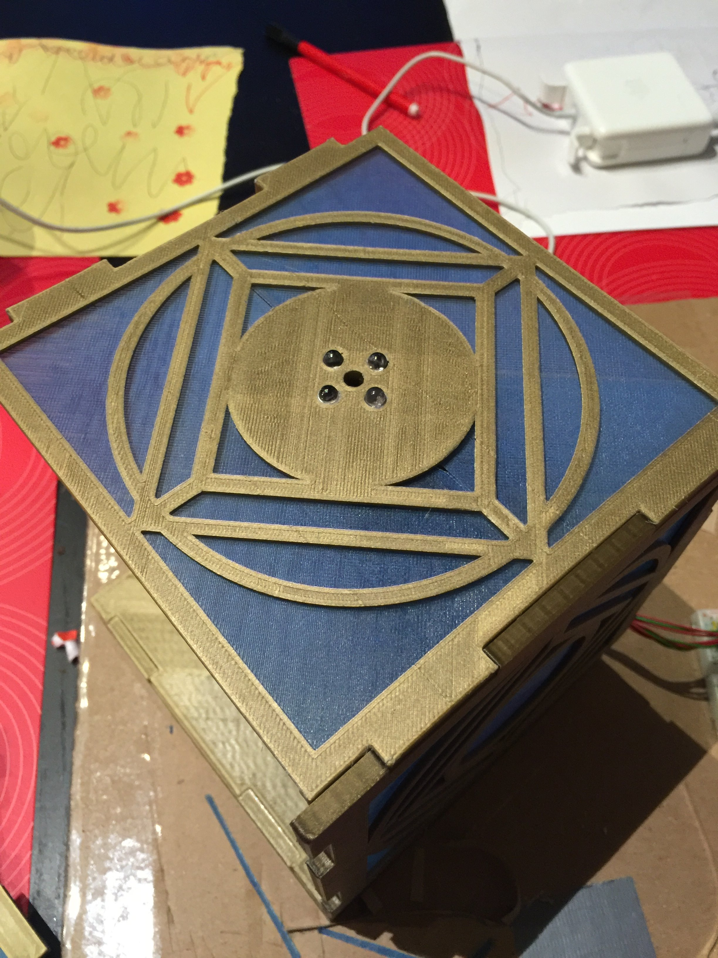 Picture of 4 Sides Assembled. the Just Press Fit Together