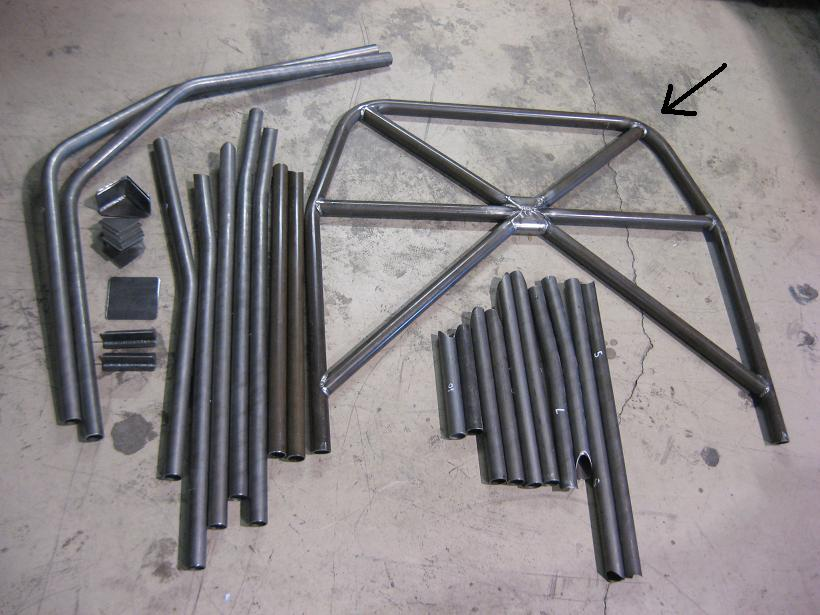 Picture of Fabricate a Main Hoop for a Roll Cage