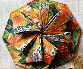 How to make a Tato Origami Pleated Coin Purse (Fabric Origami)!