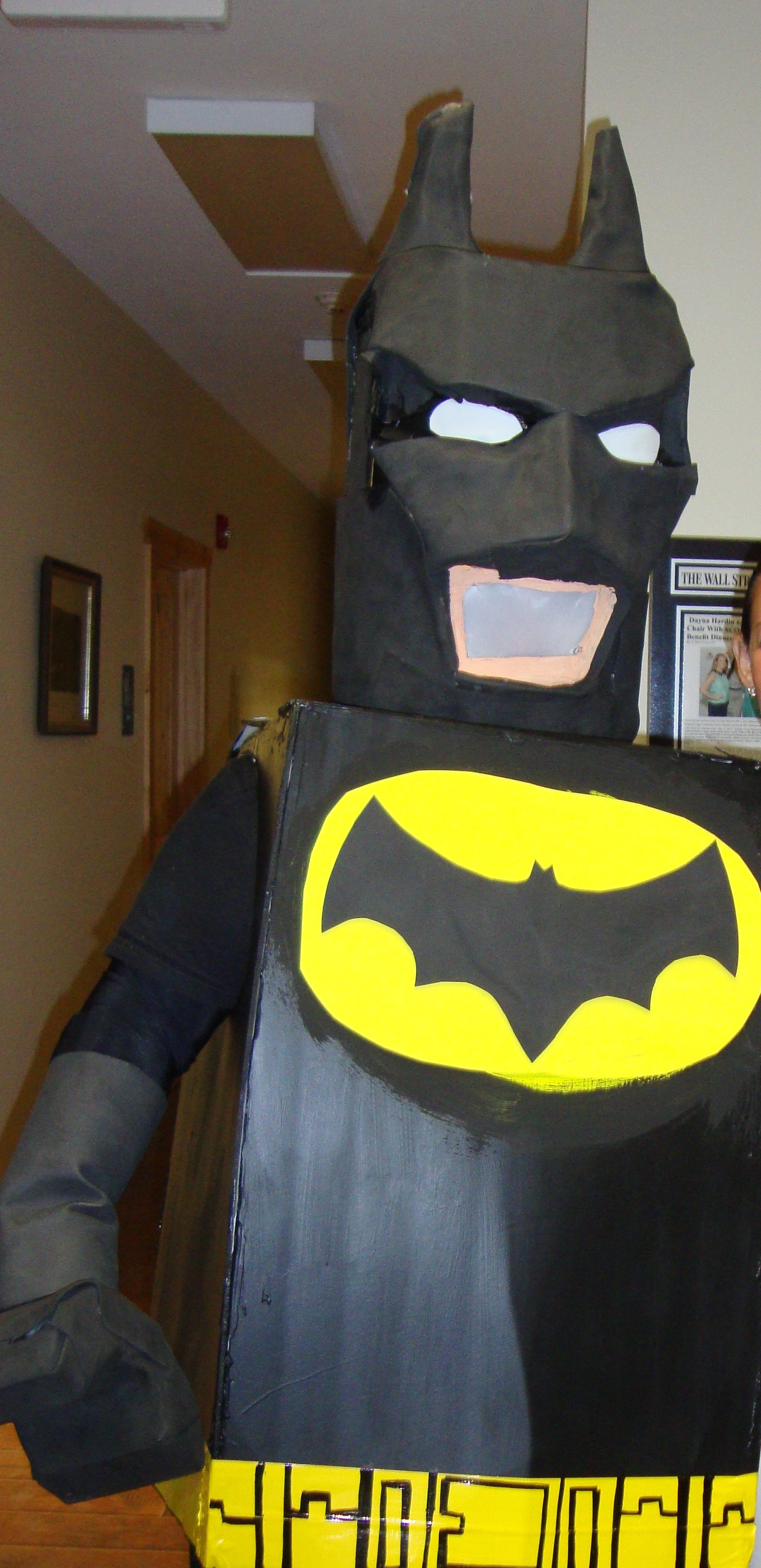 Picture of Lego Batman Costume on the Fast & Cheap!