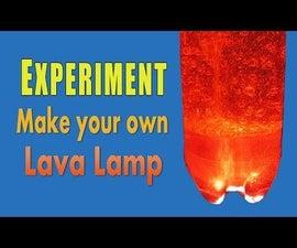 Make a homemade Lava Lamp