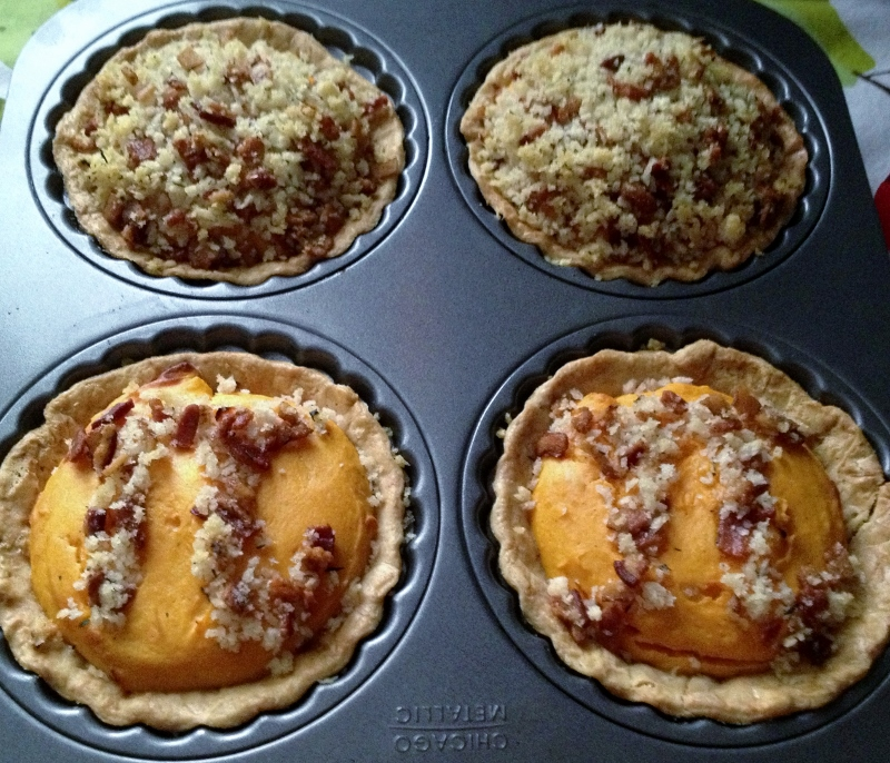 Picture of Savory Sweet Potato With Bacon Crisp Pi Pie