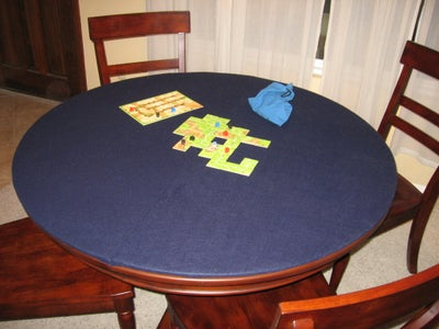 Storable Game Table Cover