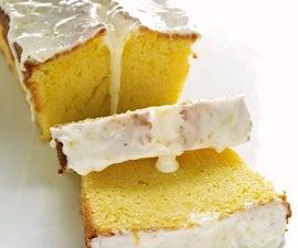 Making Lemon Cake