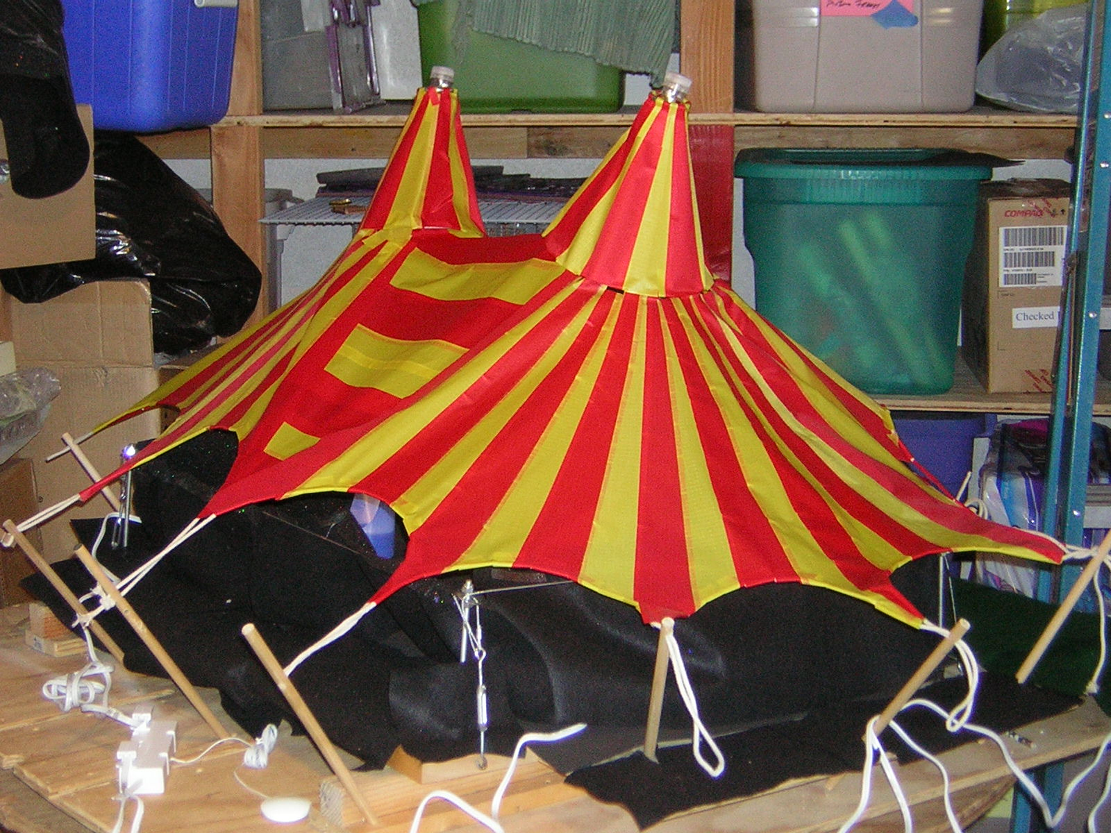 Picture of Tent Poles and Roping