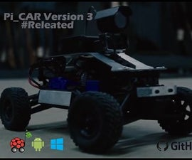 RC CONTROLLER WITH CAMERA VERSION 3 (Pi_CAR V3)