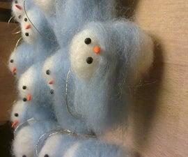 Snowbaby Christmas ornament