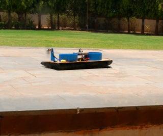 Smartphone Conrolled Hovercraft Made Using Evive-Arduino Based Embedded Platform