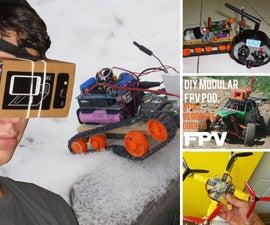 Drones, Bots, FPV, ROV