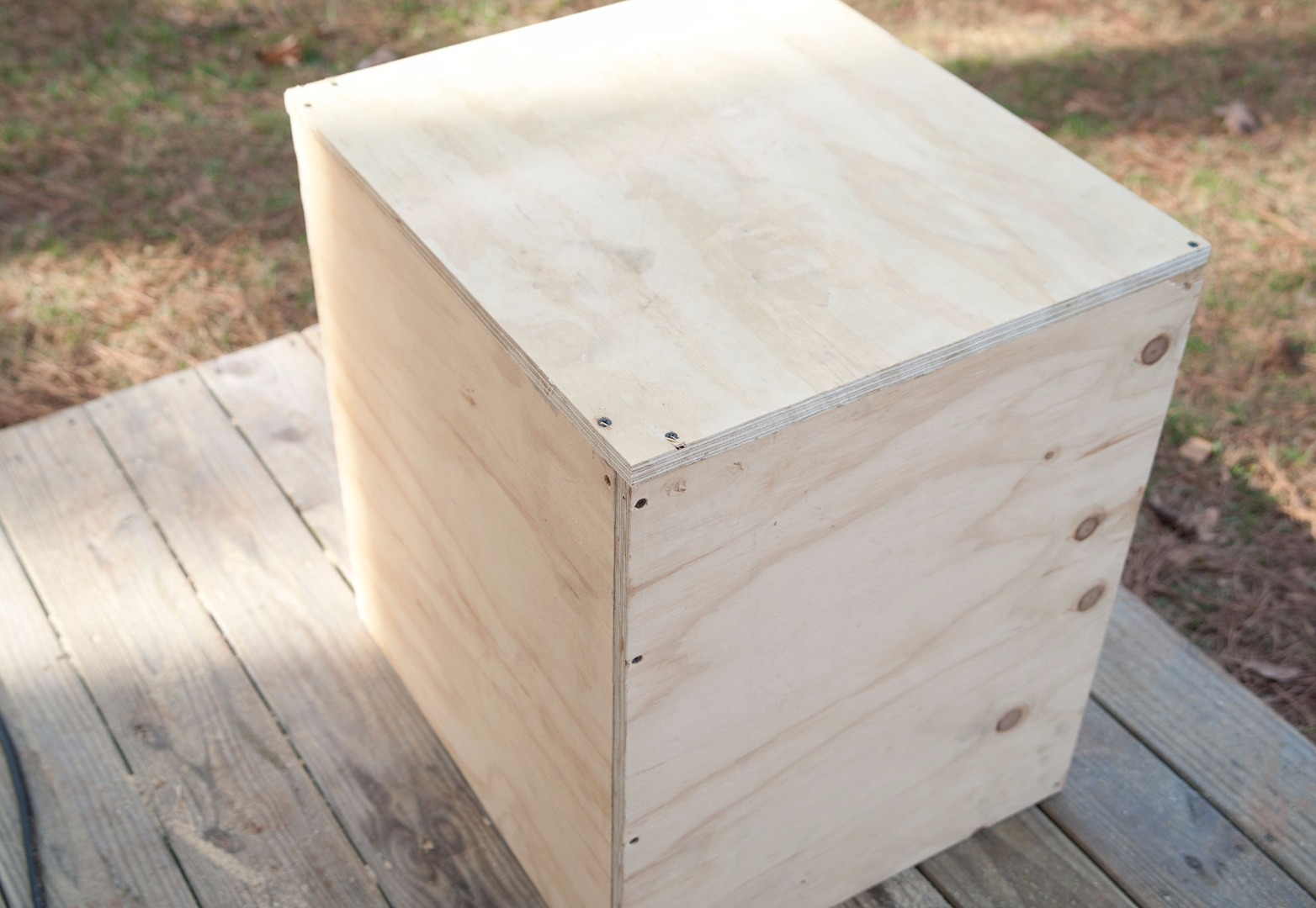 Picture of Cut Wood Sides and Bottom