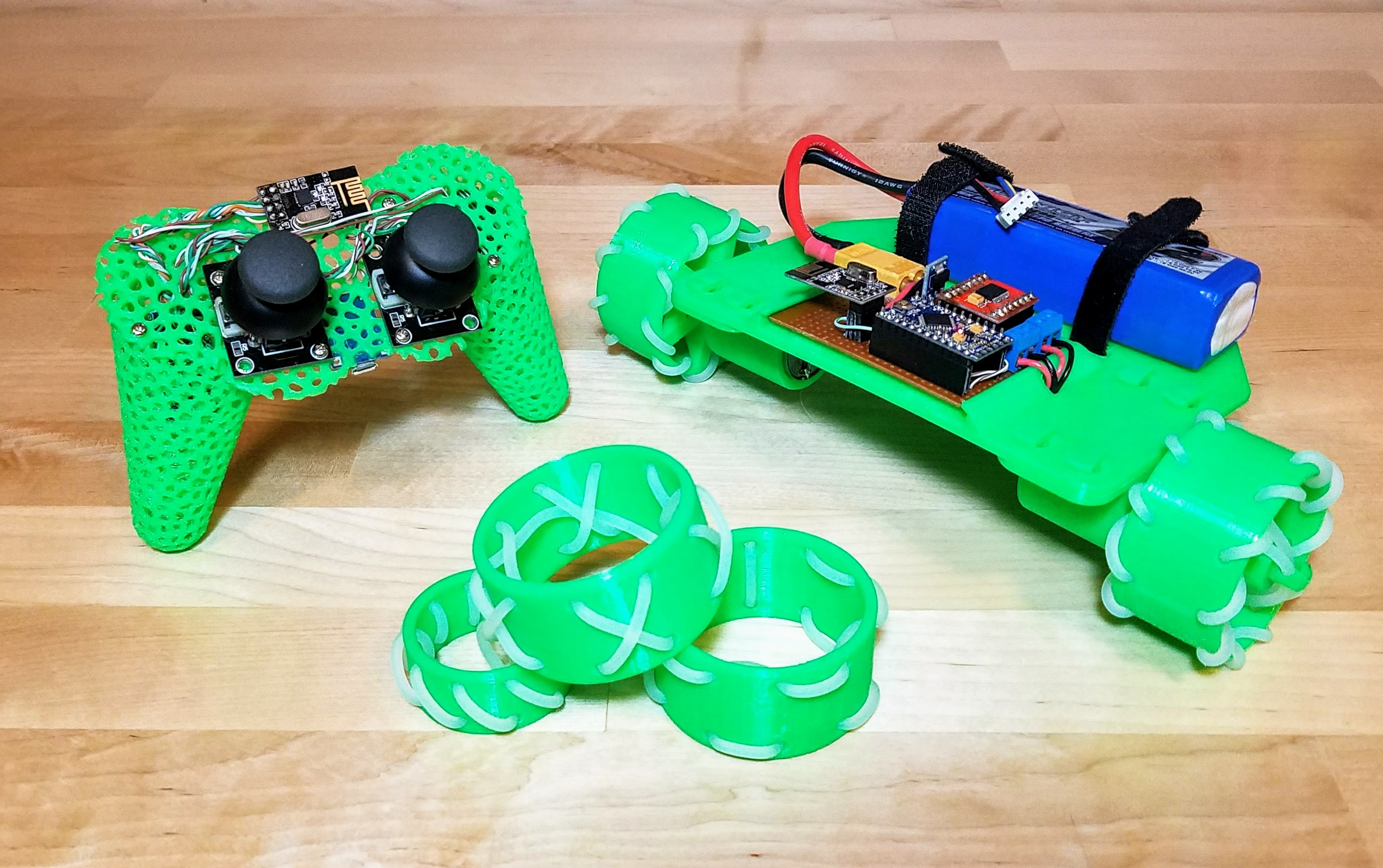 Picture of Voronoi Controller and Modular RC Car
