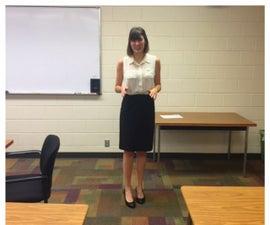 Presenting a Speech in a College Class