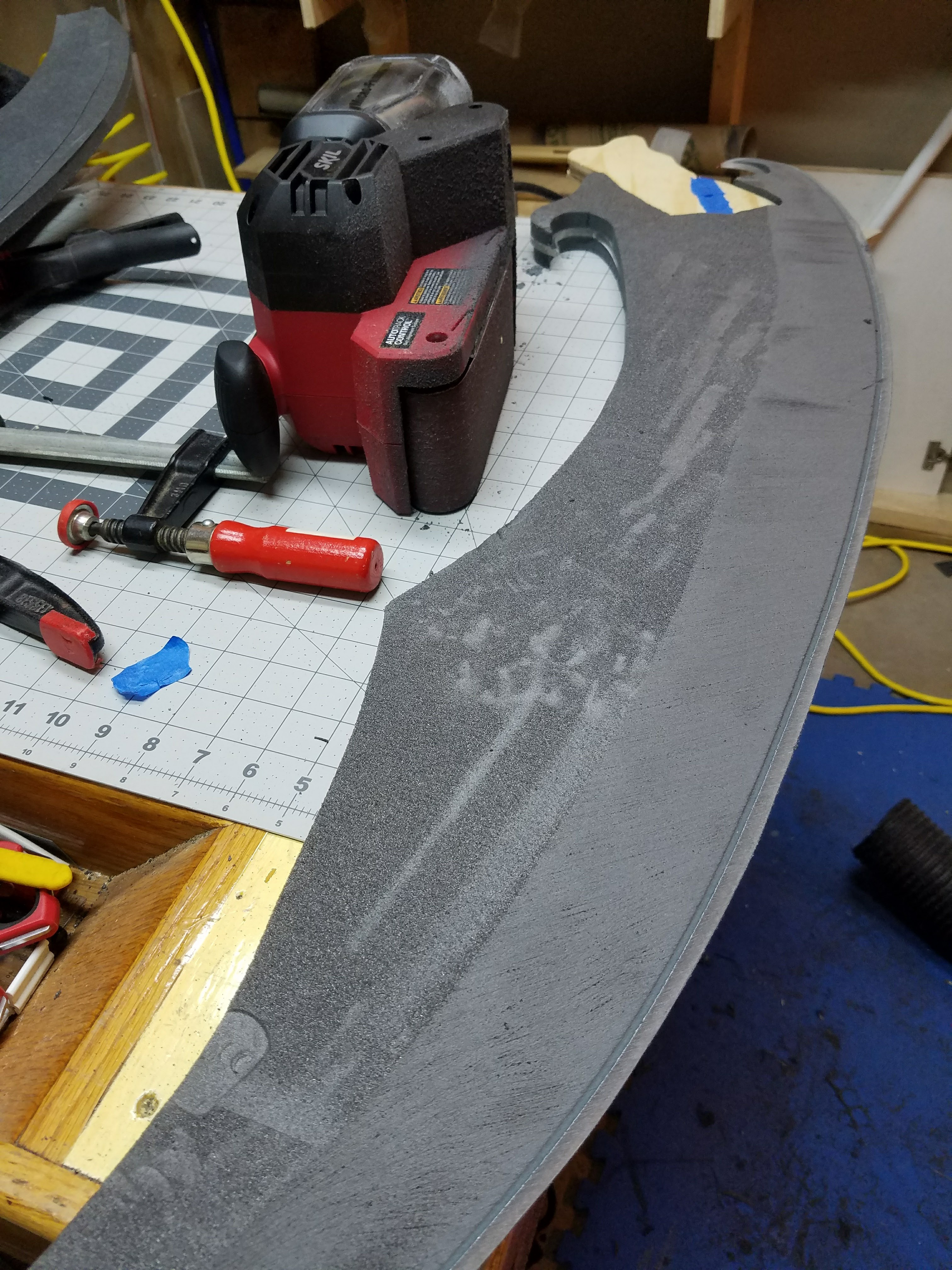 Picture of Step 5: Shaping the Blade