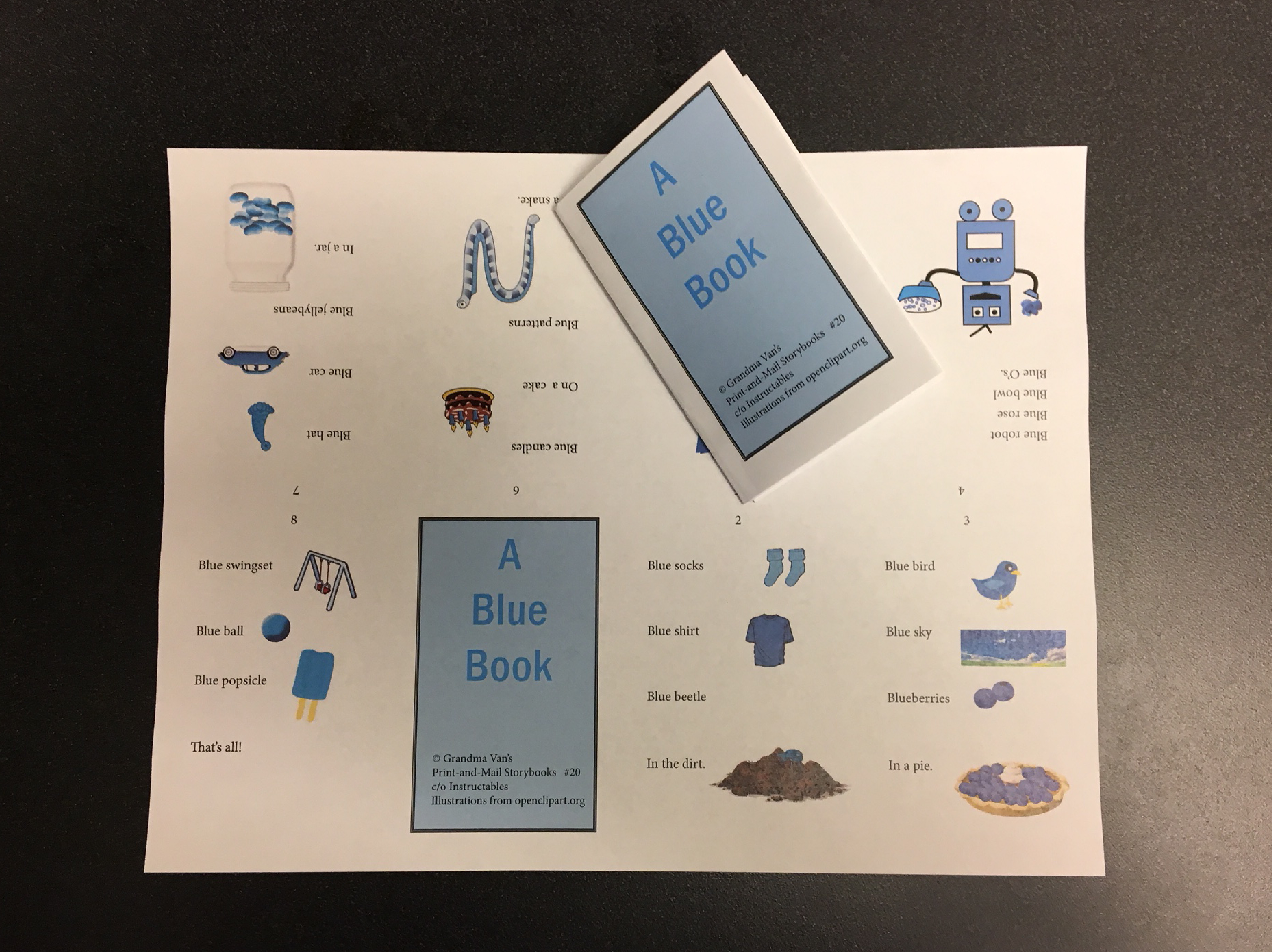 Picture of A Blue Book (#20)