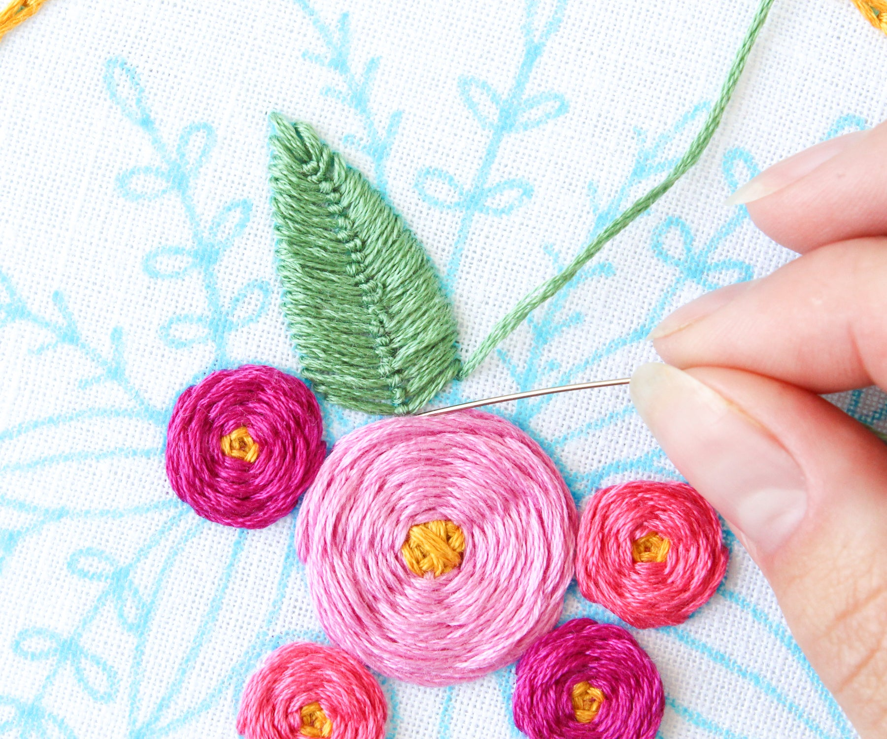 Free Online Embroidery Class