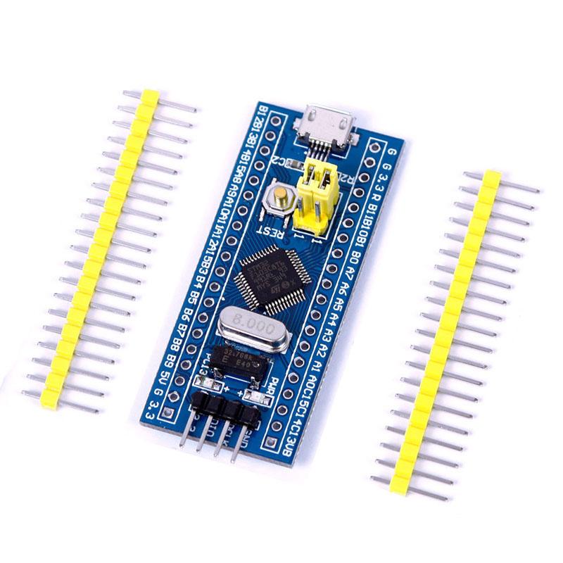 Picture of STM32F103C8X Minimal Development Board + ST Link V2 + STM Workbench