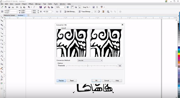 Picture of Converting the Logo to Black and White