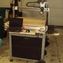 Convert a Propane Grill to a CNC Router Base