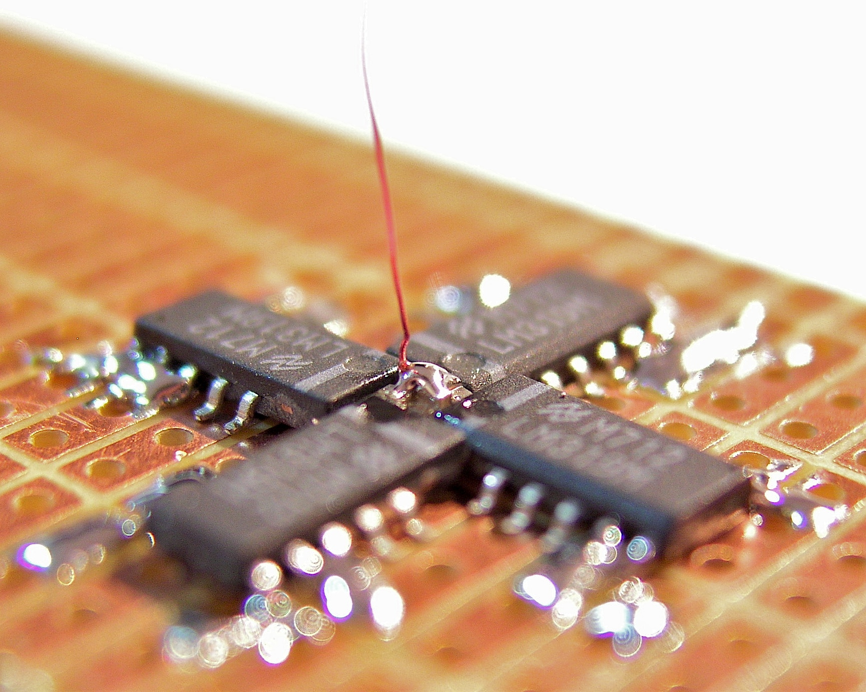 Picture of Solder the First Wire