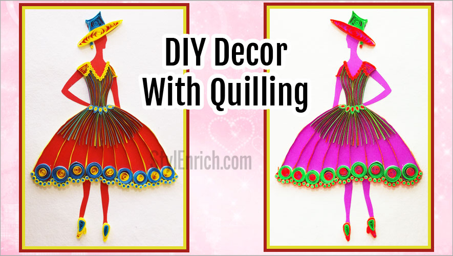Picture of Your DIY Quilling Princess Is Ready!