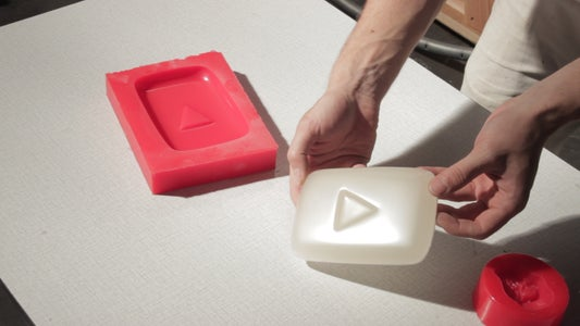 Casting the Glow in the Dark Button