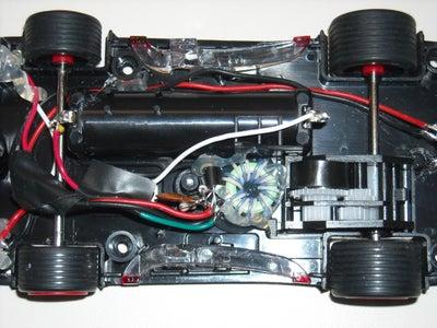 Hess Car - Running on Empty (battery)