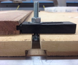 CNC T-Slot Hold Downs