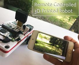 3D Printed Raspberry Pi Zero Robot